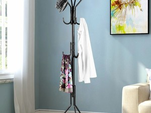 Keep your front entryway organized with this $16 Langria coat rack