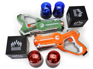Play Capture The Flag with this $15 Laser Tag Set with two blasters