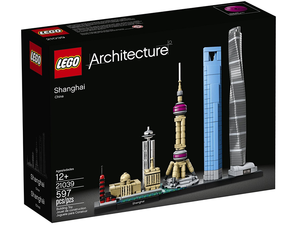 Bring a bit of Shanghai home with this $48 LEGO Architecture set