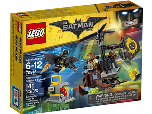 Ruin the Scarecrow's evil plans with this $10 Lego Batman Fearful Face-Off set