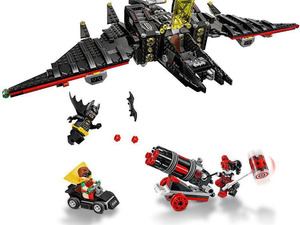 Patrol over Gotham's skies with the $64 Lego Batman Batwing Building Kit