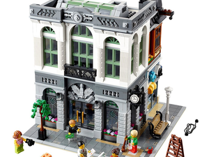 Build up the Lego Brick Bank with this $146 construction set featuring over 2,300 pieces