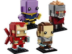 Marvel and Star Wars Lego Brickheadz are on sale for as low as $5 right now