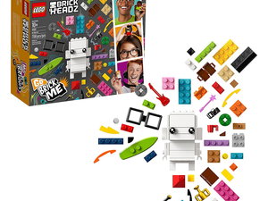 Build yourself and a friend as Lego BrickHeadz with the $22 Go Brick Me kit
