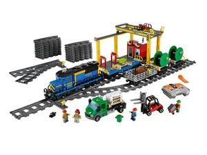 The Lego City Cargo Train is down to $140 while supplies last