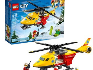 Brick builders, now's your chance to get the Lego Ambulance Helicopter Kit for $16