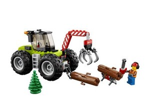 Pick up all the logs with this $16 Lego City Forest Tractor