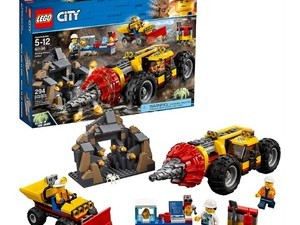 Start drilling with this Lego City mining kit for $40