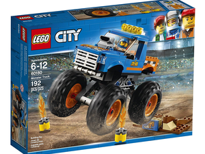Crush the competition with the $16 Lego City Great Vehicles Monster Truck kit