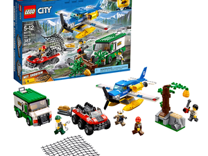 Play cops and robbers with the $40 Lego City Mountain River Heist set