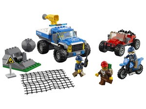 Chase the bad guys with the $32 Lego City Dirt Road Pursuit