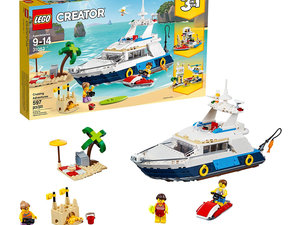 The $50 Lego Creator Cruising Adventures set can be built into three different models