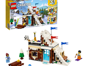 Make Winter last forever with the $28 Lego Creator Modular Winter Vacation kit