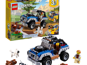 The 3-in-1 Lego Creator Outback Adventures set is down to $13 today