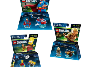 These Lego Dimensions Fun Packs are down to $4 apiece while supplies last