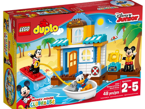 Play with Mickey, Goofy and Donald in the $24 Lego Duplo Disney Junior Beach House