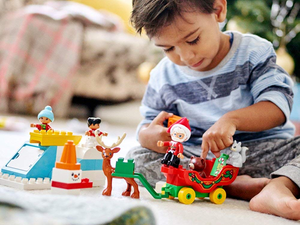Pack away this $20 Lego Duplo Santa's Winter Holiday set for Christmas