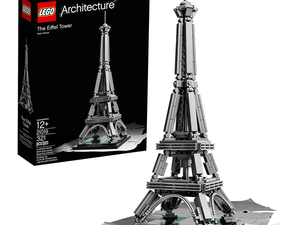 Build a mini replica of the Eiffel Tower with this $24 Lego Architecture set
