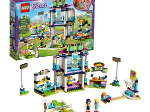 Have a blast with the Lego Friends Stephanie's Sports Arena kit