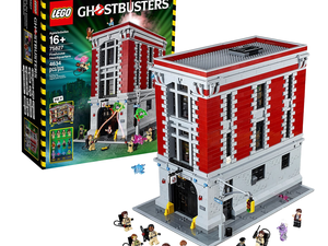Build a Lego replica of the original Ghostbusters Firehouse Headquarters for $317