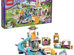 Take your imagination for a swim with the discounted Lego Friends Heartlake Summer Pool set