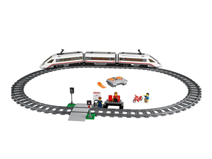 Construct this working Lego City High-speed Passenger Train set for $117