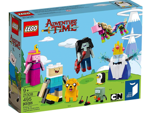 Build the cast from Adventure Time with 50% off this Lego Ideas set