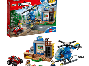 Grab the newest Lego Junior Mountain Police Chase set for $16