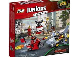 The Lego Juniors Shark Attack set is down to $13 right now