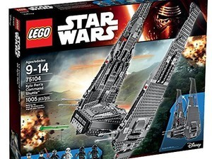 For only $66 you can build your own Kylo Ren Command Shuttle
