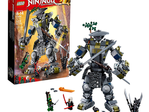 Recreate Lego Ninjago: Masters of Spinjitzu battles with the Oni Titan set at a new low price