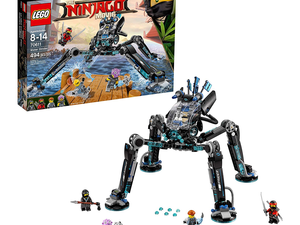 Lego Ninjago fans can grab the Water Strider Building Kit for $20 right now