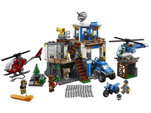 Get this $72 Lego City Police Mountain Headquarters set for its lowest price