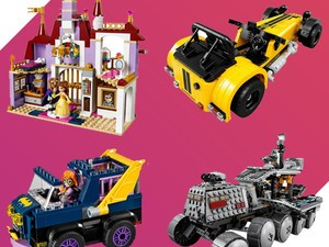 Buy one, get one 50% off select Lego
