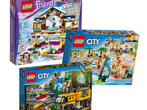 Lego City and Friends building sets are discounted by up to 40% at Target