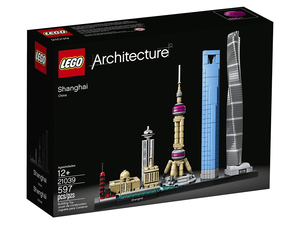 Build a mini version of Shanghai with this $48 Lego Architecture building kit