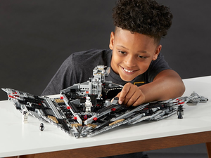 End the war against the Resistance with the $120 Lego Star Wars First Order Star Destroyer set