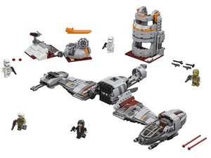 Get the $68 Lego Star Wars Defense of Crait for its lowest price yet