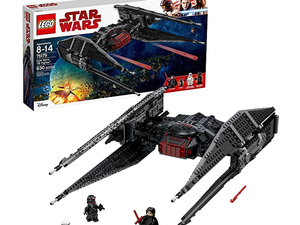Blast off to a galaxy far, far away with the $49 Lego Star Wars Kylo Ren's Tie Fighter