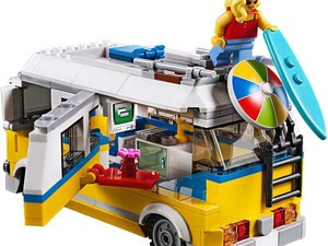 The Lego Creator Sunshine Surfer Van 379-piece kit is down to $28