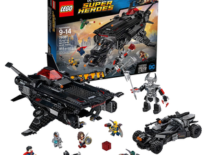 Save Gotham and a bunch of money with this discounted Lego Batman Flying Fox set