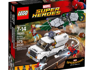 Recreate Spider-Man: Homecoming scenes with the $26 Lego Beware The Vulture set