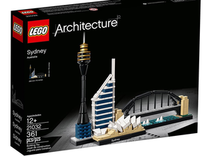 Travel down under with the $24 Lego Architecture Sydney Skyline set
