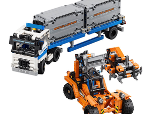 Stir imagination with the $50 Lego Technic Container Yard building kit