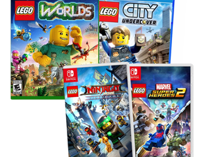 Pick up select Lego video games at Best Buy for $20 or less while supplies last