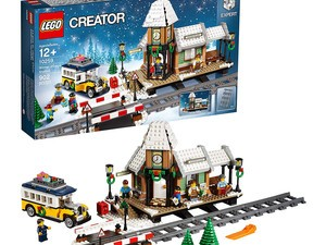 Build a wonderland with the $56 Lego Creator Expert Winter Village Station kit