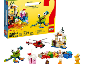 Lego's $14 Classic World Fun set is a great pick for the independent builders out there