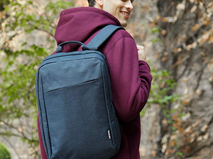 Carry along your laptop securely with Lenovo's stylish B210 backpack on sale for $10