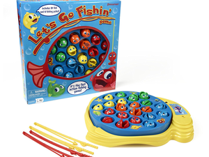 Grab a pole and get the classic Let's Go Fishin' game for only $5 at Amazon