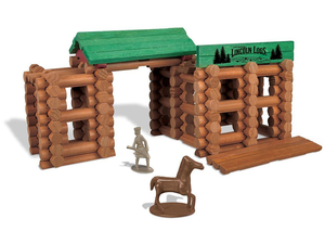 Build the 170-piece Lincoln Logs Colts Creek Command Post for $15